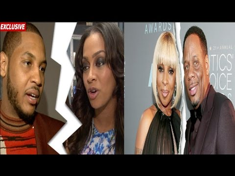 Mary J. Blige Claims She Was Hacked After Cussing Out EX + CARMELO & LA LA ANTHONY SEPARATE