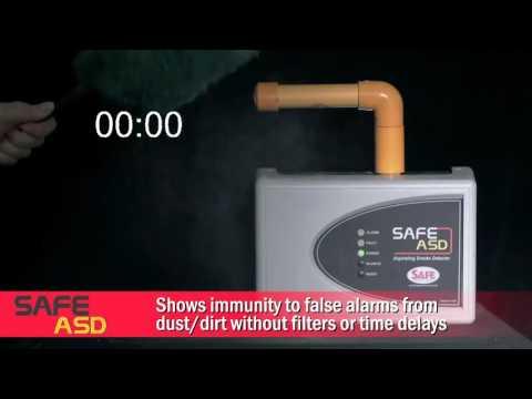 Аспирационный дымовой извещатель Safe ASD 720
