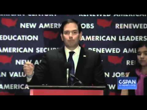 Marco Rubio Florida Concession Speech. Rubio Suspends Campaign