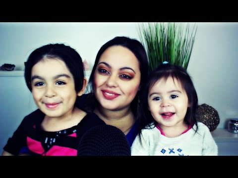 ASMR| Meet my Daughters!!!| Reading You A Children's Book ^_^