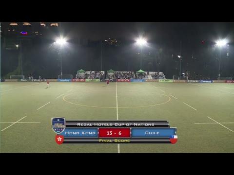 Hong Kong vs Chile - Regal Hotels Cup Of Nations 2017