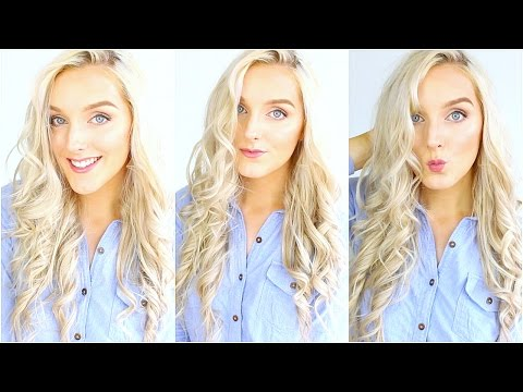 How To Curl Your Hair With Straightener Beachy Waves With Straightener