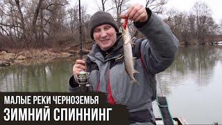 Зимний спиннинг Малые реки Черноземья 5 8