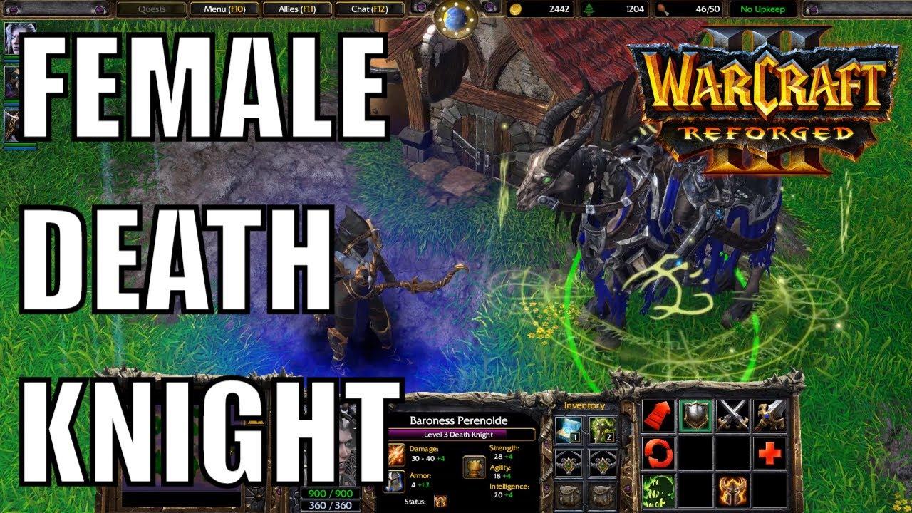 Female Death Knight And Dark Ranger Voice Lines Warcraft
