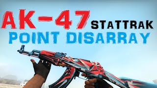 cs go ak 47 stattrak point disarray gameplay factory new