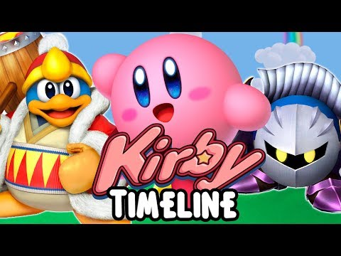 Kirby Timeline with Star Allies Review!