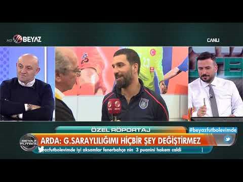 Arda Turan'dan Beyaz Futbol'a özel açıklamalar! G.Saray taraftarına ne mesaj gönderdi?