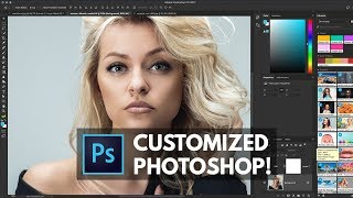 10 Steps to CUSTOMIZING Photoshop FOR YOU  | Educational