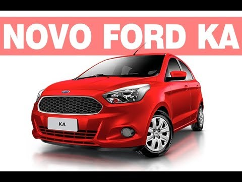novo ford ka 2018 2019 ficha t cnica pre o consumo. Black Bedroom Furniture Sets. Home Design Ideas