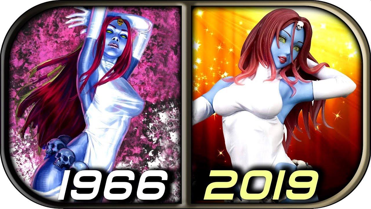 Evolution Of Mystique In Cartoons Anime 1992 2019 X Men Dark