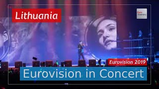 Lithuania Eurovision 2019 Live: Jurij Veklenko - Run With The Lions - Eurovision in Concert