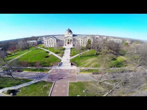SEMO Campus Aerial Preview