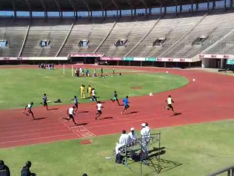 ZTISU 2017 100m Gold for Gerren Muwishi(Bhiza)