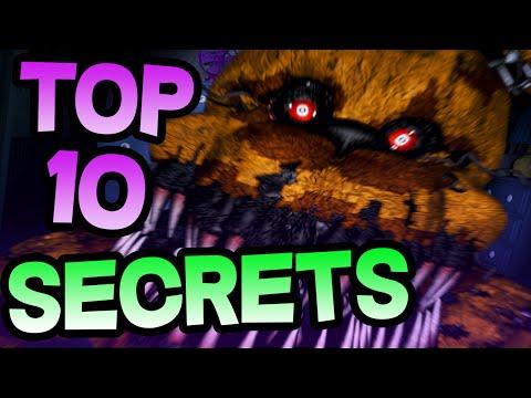 FNAF 4 TOP 10 SECRETS | Five Nights at Freddy's 4 Top 10 Secret Easter Eggs | Top 10 FNAF 4 SECRETS