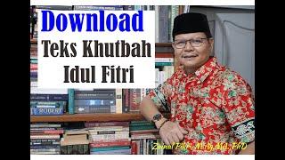 Contoh Khutbah Shalat Idul Fitri Di Rumah  Edisi Ringkas  Ii Mendadak Khatib Stay At Home