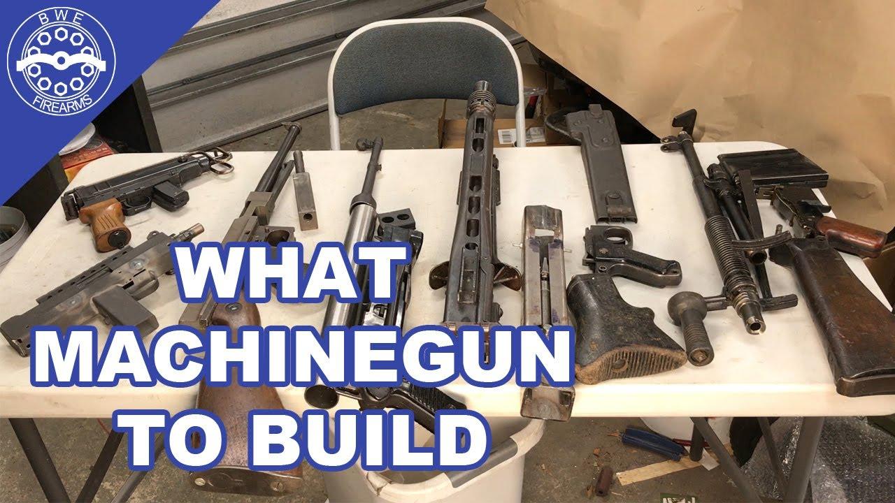What Machinegun should I build first?