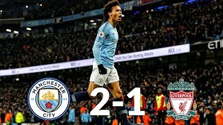 Manchester City vs Liverpool 2-1 03/01/19 ● Match Statistic