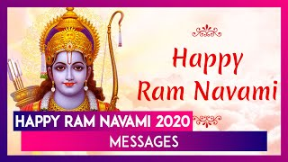 Happy Ram Navami 2020 Messages: WhatsApp Greetings & Images to Celebrate Birth of Lord Rama