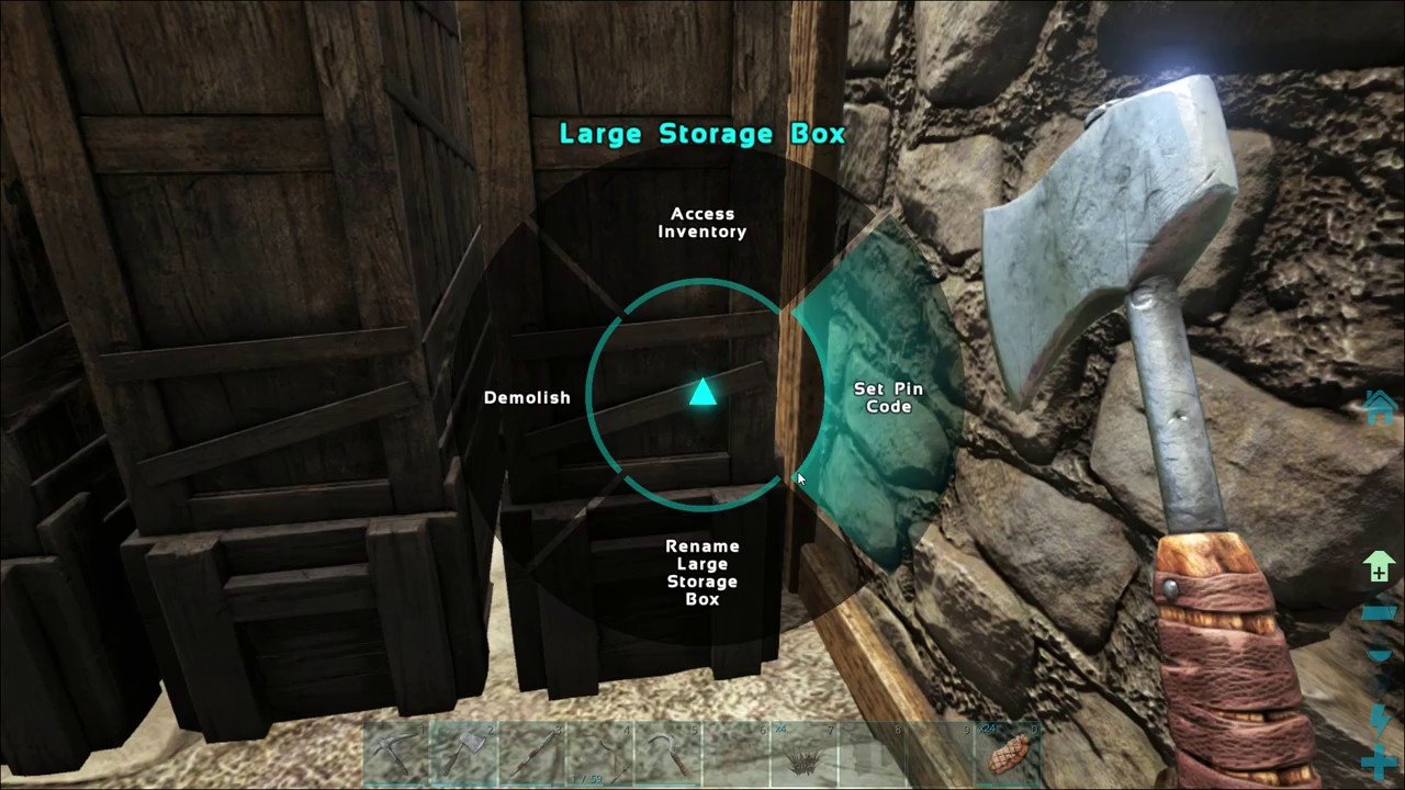 How To Organize Storage Boxes   ARK: Survival Evolved