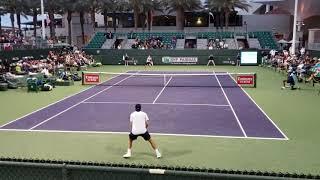 Hubert Hurkacz  BEATING Lucas Pouille - Indian Wells Masters  2109 PARTII