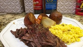 The Best Smoked Pot Roast Recipe