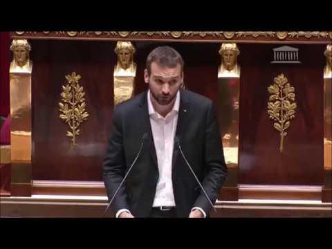 Implacable discours du député insoumis Ugo Bernalicis sur l'état d'urgence