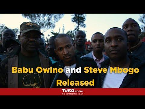 Detained for not wearing motorbike gears: Hon Babu Owino,Hon Steve Mbogo and TJ Kajwang'