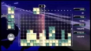 Lumines Live! Xbox 360 Edition Gameplay
