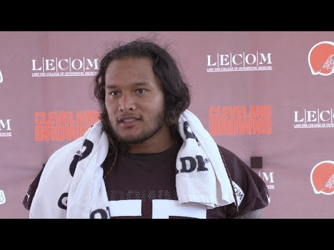 Danny Shelton: We have been waiting for pads