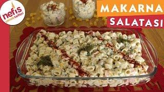 Makarna Salatası - Salata Tarifi - Nefis Yemek Tarifleri