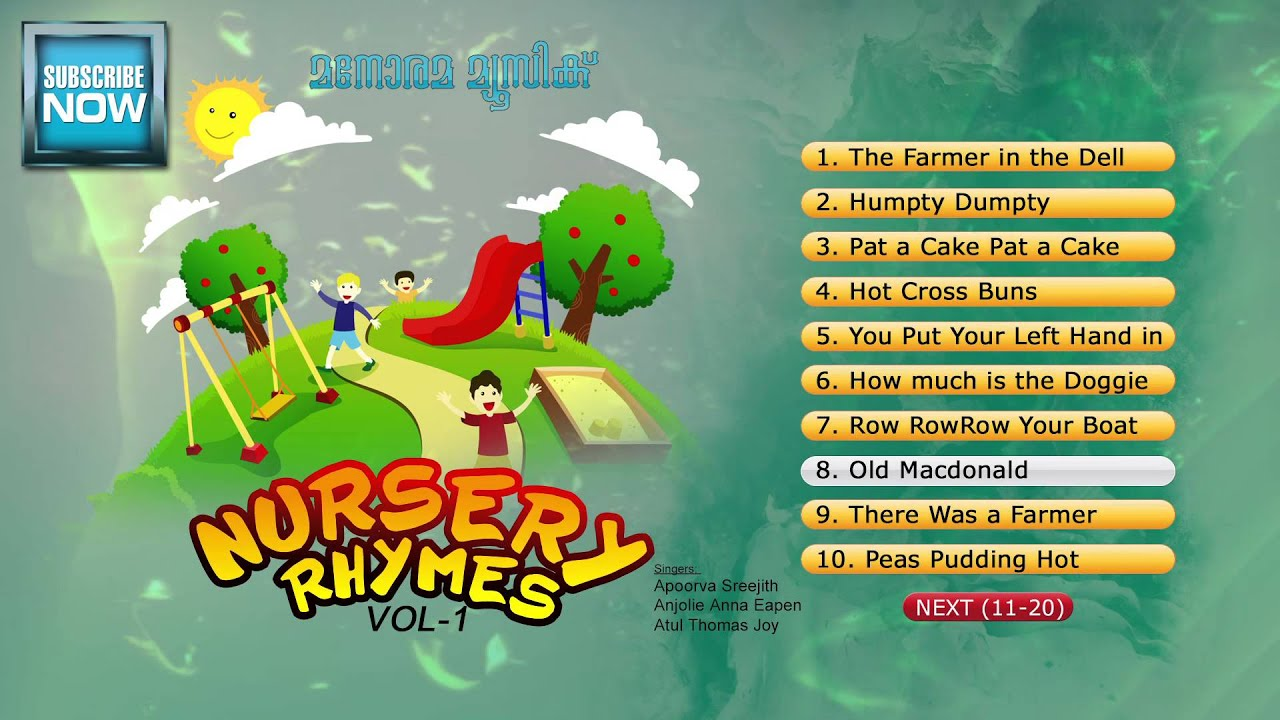 Nursery Rhymes Vol 1 Audio Jukebox