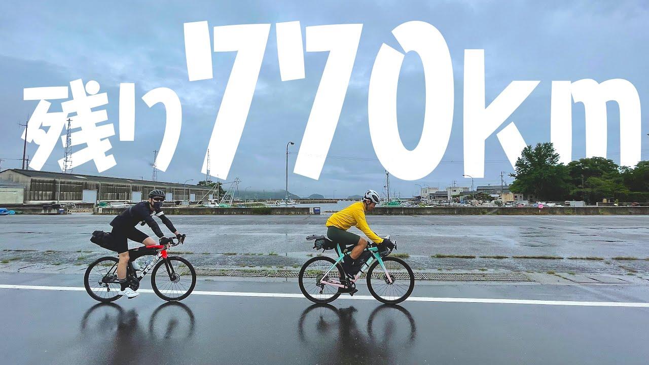 香川〜徳島突入!遂に梅雨の洗礼を受けました!泣 ロードバイクで四国一周4日