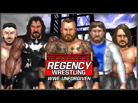 WWE Unforgiven 2018 (Full Show) | Fire Pro Wrestling World (RDS Wrestling Universe Ep 32)