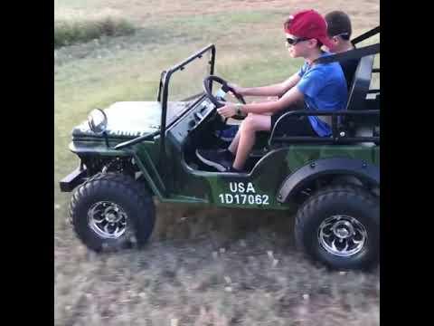 Mini Jeep Coolster 125cc Mini Jeep Youtube