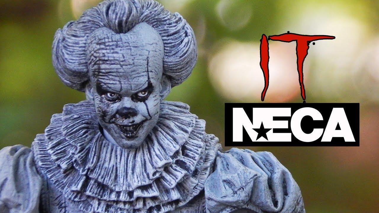 NECA Pennywise; dibujo viviente del payaso Eso, figura exclusiva de la SDCC. IT Edición limitada.