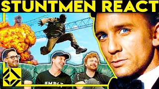 Stuntmen React To Bad & Great Hollywood Stunts 11