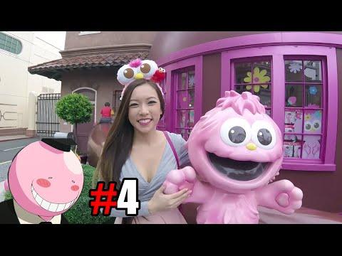 SHE LOVES UNIVERSAL STUDIOS! - Japan vlog #107