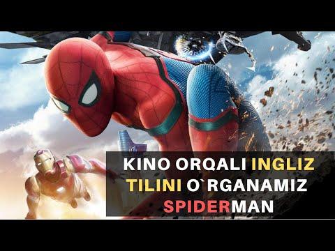 INGLIZ TILINI KINO ORQALI O`RGANING *Spider-Man*/Инглиз тилини кино оркали тез ва осон урганинг