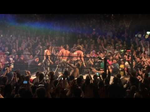 Kenny Omega and the Young Bucks dance to Uptown Funk