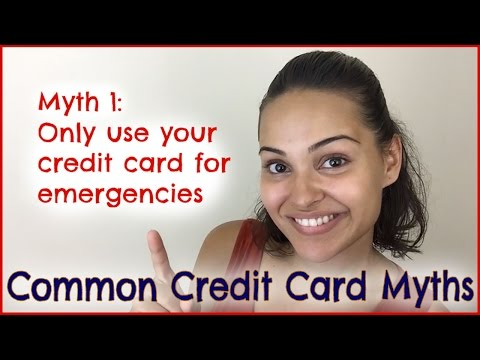 Common Credit Card Myths