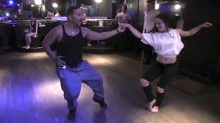 Brazilian Zouk Lambada Dance Body Movement Tutorial by Joe and Evelyn