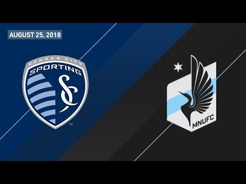 HIGHLIGHTS: Sporting Kansas City vs. Minnesota United FC | August 25, 2018