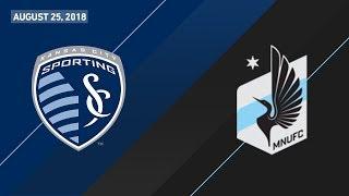 HIGHLIGHTS: Sporting Kansas City vs. Minnesota United FC   August 25, 2018