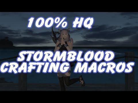 Ffxiv  Star Crafting Stormblood