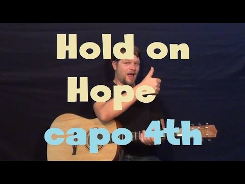 Hold On Hope Guided By Voices Easy Strum Guitar Lesson How To Play