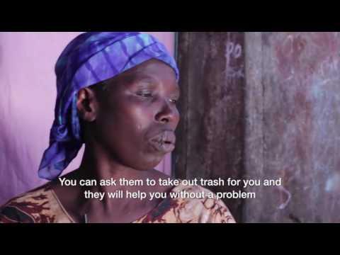Slum TV-Dokumentation über Straßenkinder im Slum in Kenia