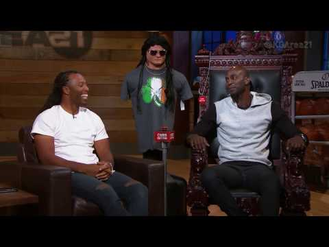 Area 21: Larry Fitzgerald On Meeting Kevin Garnett | NBA on TNT