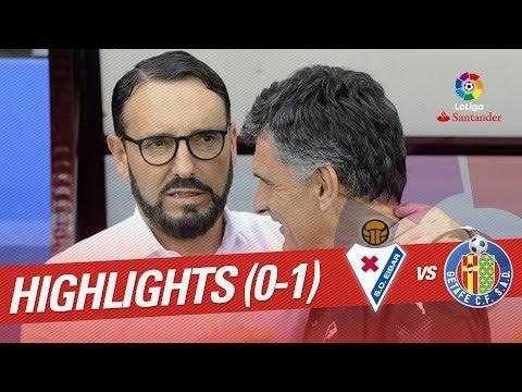 Resumen de SD Eibar vs Getafe CF (0-1)