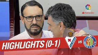 Resumen de SD Eibar vs Getafe CF 0-1