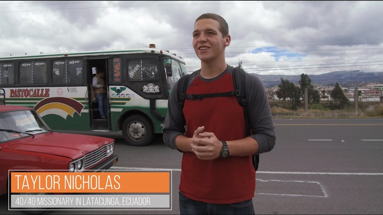 Missionary Profile - Taylor Nicholas 40/40 Extreme Nazarene Missions